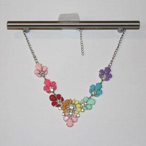 Rainbow Colorful Fashion Necklace